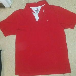 Boys Tommy Hilfiger short sleeve shirt